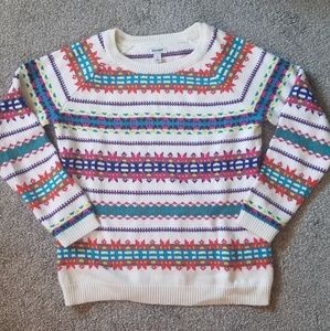 Warm & Cozy Colorful Pullover Sweater